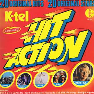 Various Artists - Hit Action – K-Tel NE 993 - LP Vinyl Record