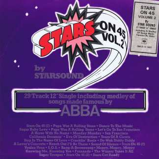 Star Sound – Stars On 45 Vol.2 - CBS A 13 1407 - 12-inch Vinyl Record