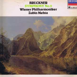 JB 108 - Bruckner / Mehta - Symphony No. 9 In D Minor - LP Vinyl Record