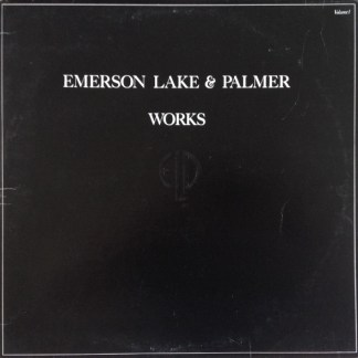 Emerson Lake & Palmer ‎– Works (Volume 1)