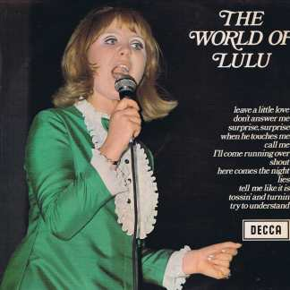 Lulu - The World Of Lulu - Decca SPA 9 – LP Vinyl Record