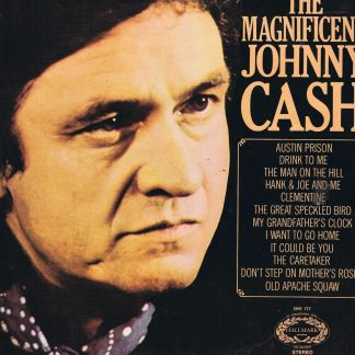 Johnny Cash – The Magnificent Johnny Cash – SHM 777 – LP Vinyl Record