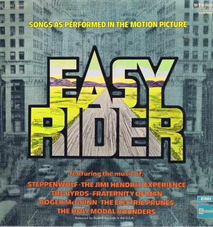 Easy Rider – Songs As Performed In The Motion Picture – MCL 1647 – LP Vinyl