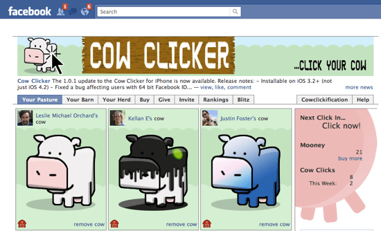 Image result for cow clicker