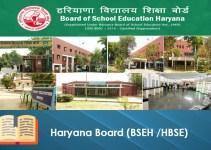 Haryana Board (BSEH HBSE)