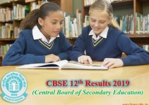 CBSE Board Plus Two 12th Class Results 2019