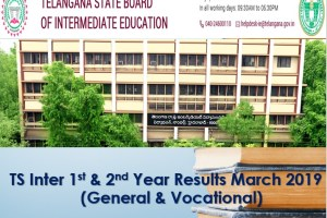 TS Inter 1st & 2nd Year Results 2019