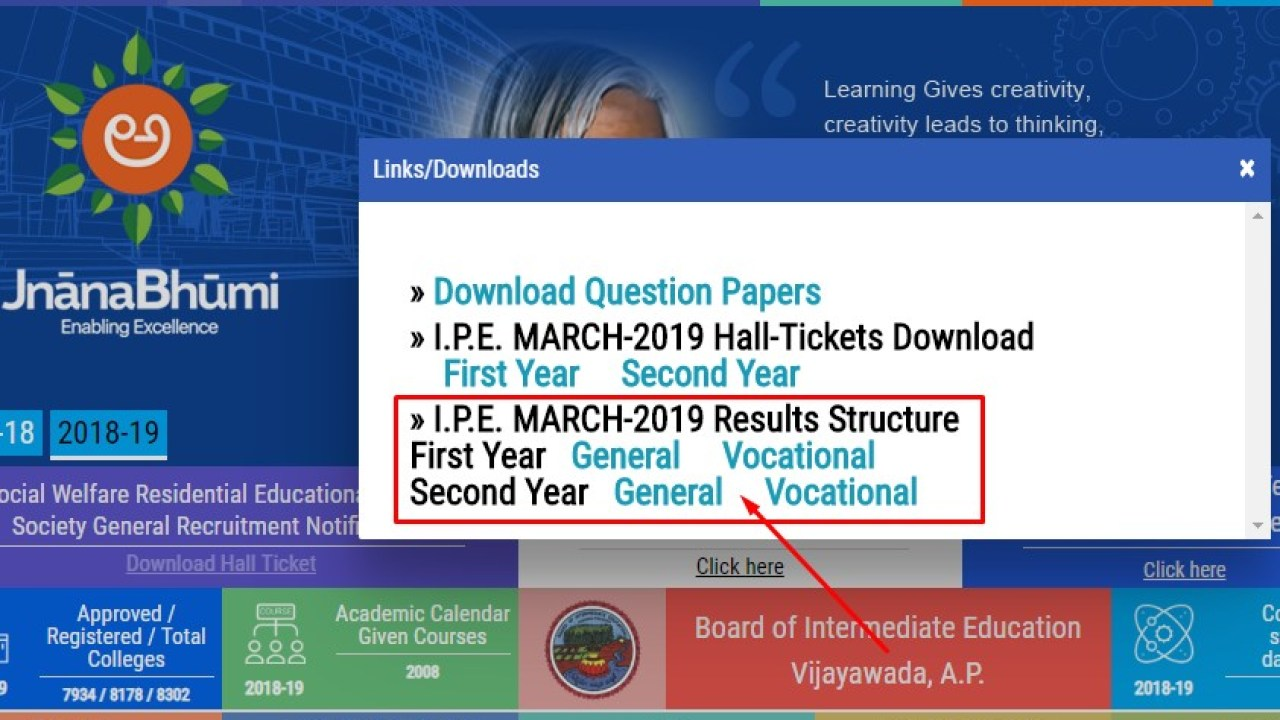 AP Inter 1st & 2nd Year Results Released along with Vocational