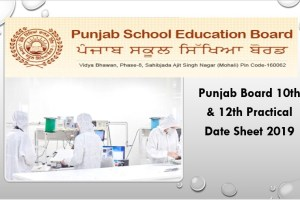 Punjab Board 10th & 12th Practical Date Sheet 2019