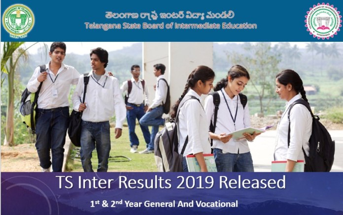 TS Intermediate Results 2019 Released - Check 1st & 2nd Year Results here