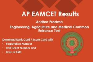 AP EAMCET Results - Download RanK Card