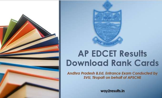 AP EDCET Results Released - Download Rank Card