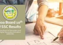 Goa 10th SSC Results 2019 - gbhse.org