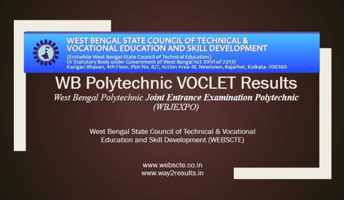 West Bengal Polytechnic VOCLET Results