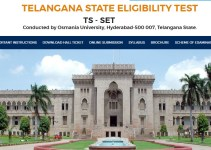Osmania University TS SET Results - Download Marks List
