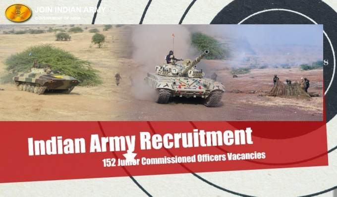 Indian Army Junior Commissioned Officers Vacancies