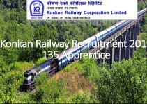Konkan Railway 135 Apprentice Recruitment 2019