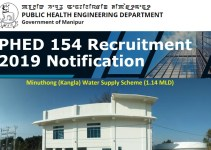 PHED 154 Recruitment 2019 Notification