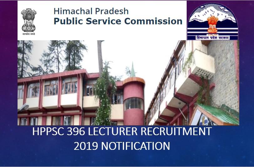 HPPSC 396 Lecturer Recruitment 2019