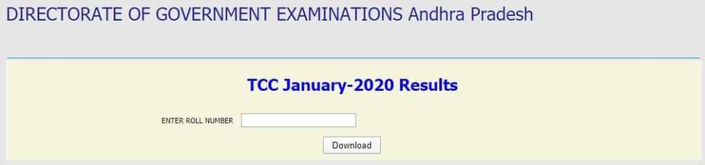 AP TCC Results 2020