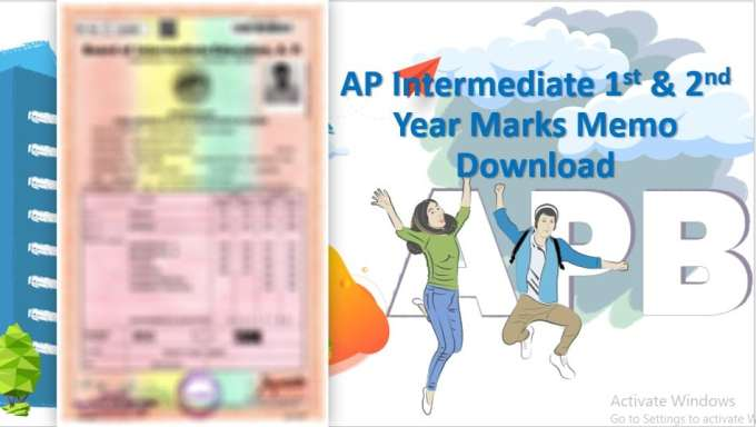 AP Inter Short Marks Memo Download (1st & 2nd Year)