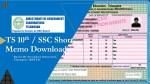 TS 10th Short Memo Download