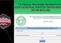 TSWREIS TGUGCET Results