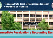 TS Inter Revaluation Recounting Results