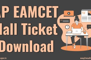 AP EAMCET Hall Ticket Download