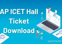 AP ICET Hall Ticket Download