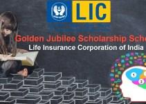 LIC Golden Jubilee Scholarship Scheme