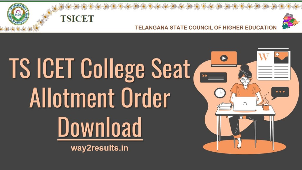 TS ICET Allotment Order Download