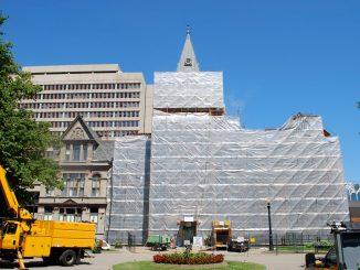 City Hall, Under Construction