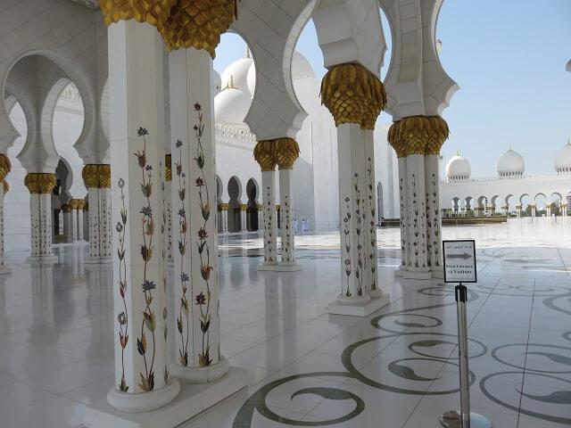 UAEアブダビのグランドモスク