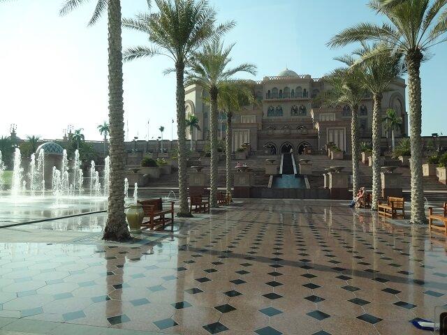 UAEアブダビのエミレーツパレス