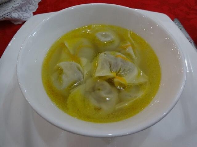 レストランサマルカンドの水餃子