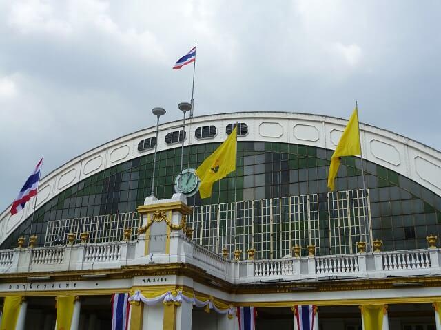 バンコクのフアランポーン駅