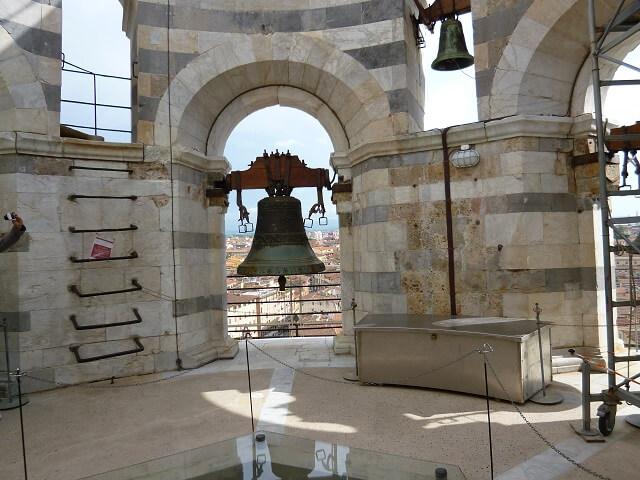 イタリア・ピサの斜塔の展望台