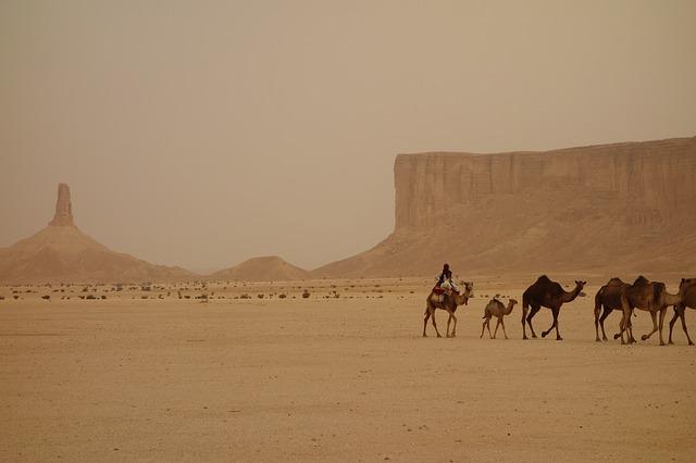 サウジアラビアにあるナバテア人の遺跡