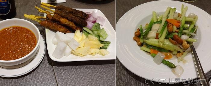 マレーシア・クアラルンプールのマダムクアンズの1品料理
