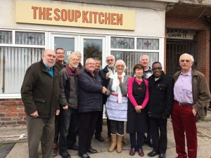 Wayfarers Chorus donate £1,000 to Southport Soup Kitchen