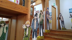 Free! This shops lower level was fashion and upper level was anime