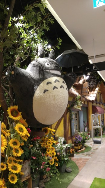 Totoro and the bakery