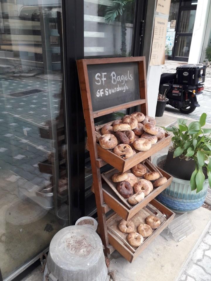 SF Bagel 샌프란시스코 베이글