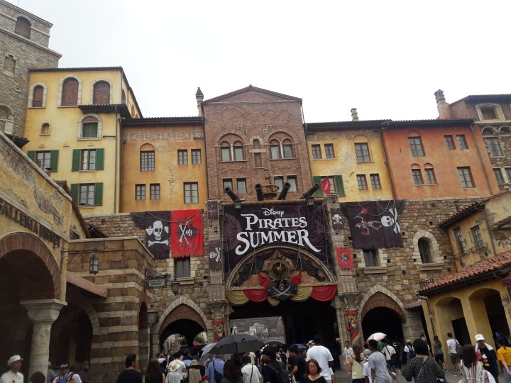 Surviving Japanese Summer: Disney Sea edition