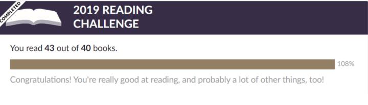 reading challenge 2019