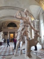 """""""Artemis with a Doe"""" Sully wing Ground floor Salle des Caryatides Room 348"""