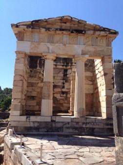 The Athenian treasury