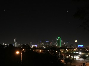Dallas Skyline from the Belmont Hotel