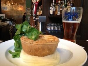 Vegan Shepherd's Pie at The Irish Heather